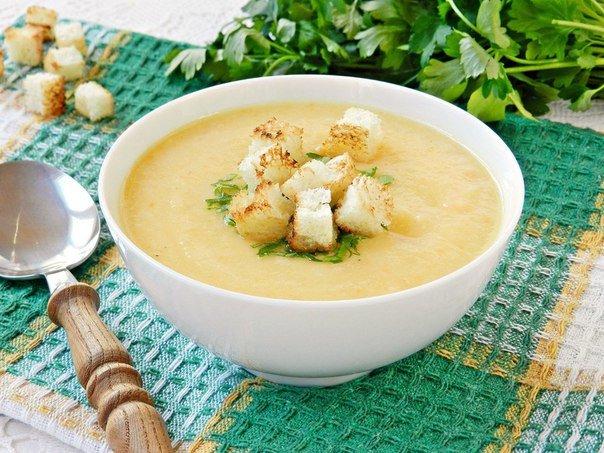 как готовить суп пюре сырный