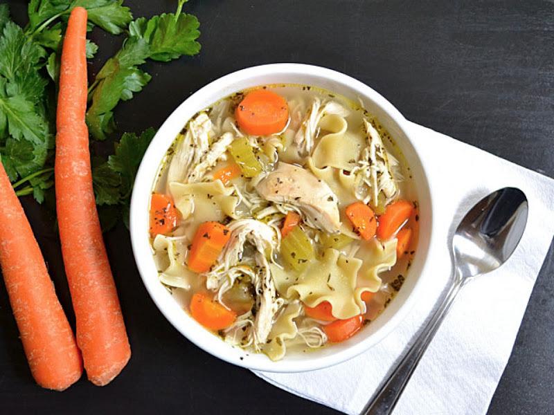 как готовить суп с лапшой
