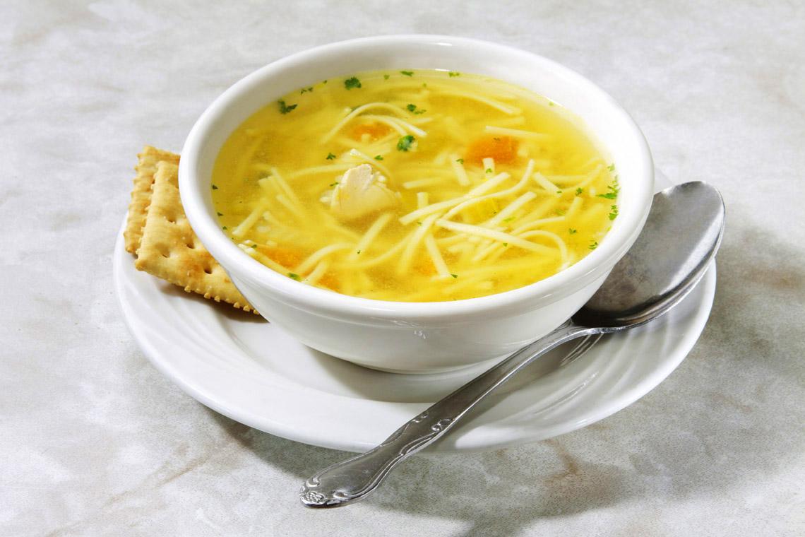 как приготовить суп лапшу