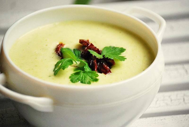 как приготовить суп пюре из кабачков