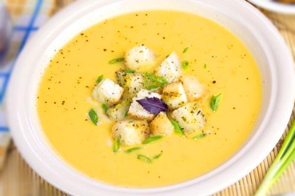 как приготовить суп пюре сырный