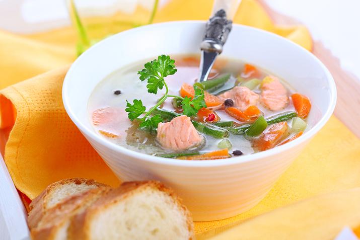 как сделать суп без картошки