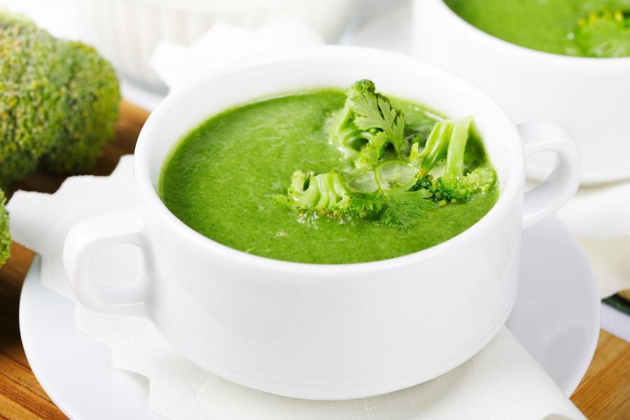 как сделать суп пюре из брокколи