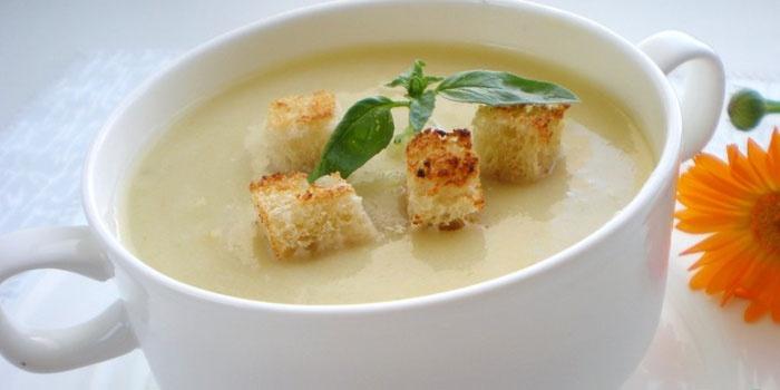 как сделать суп пюре из кабачков