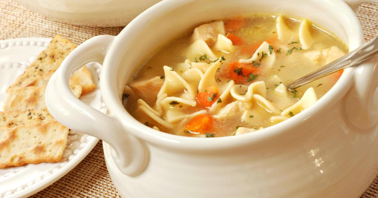 как сделать суп с лапшой