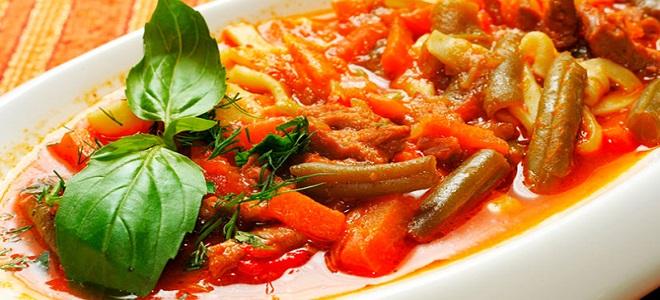 лагман по узбекски рецепты