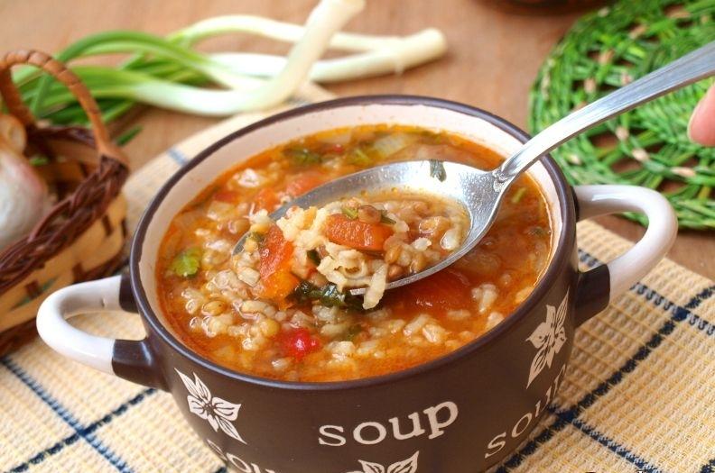 рецепт рисового супа