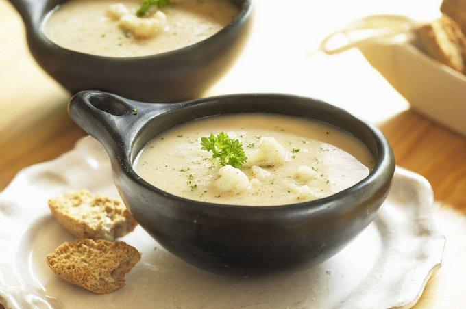 сливочный суп рецепт
