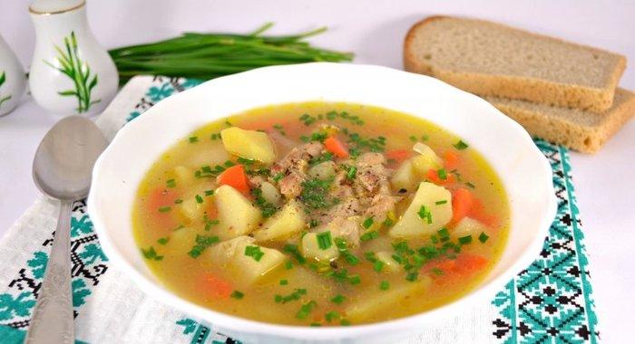 супы из свинины