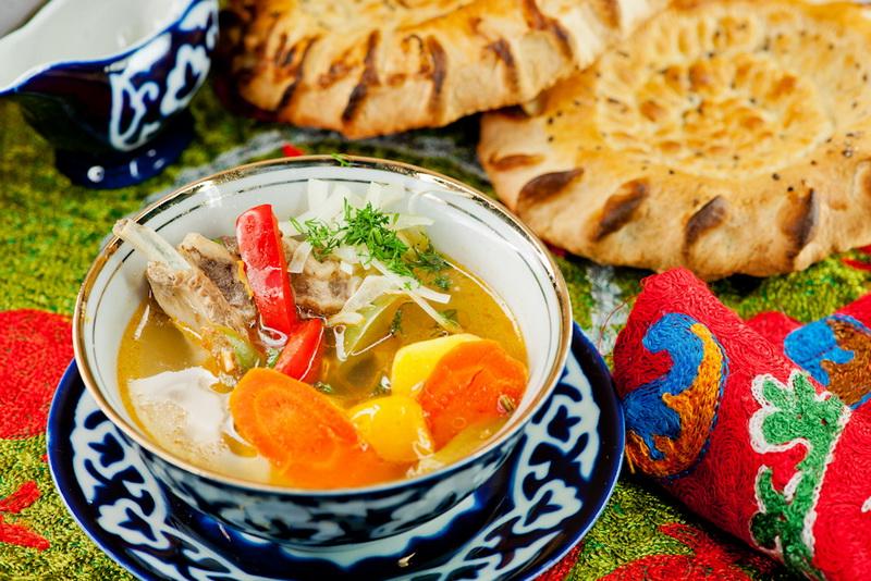 шурпа из баранины по узбекски