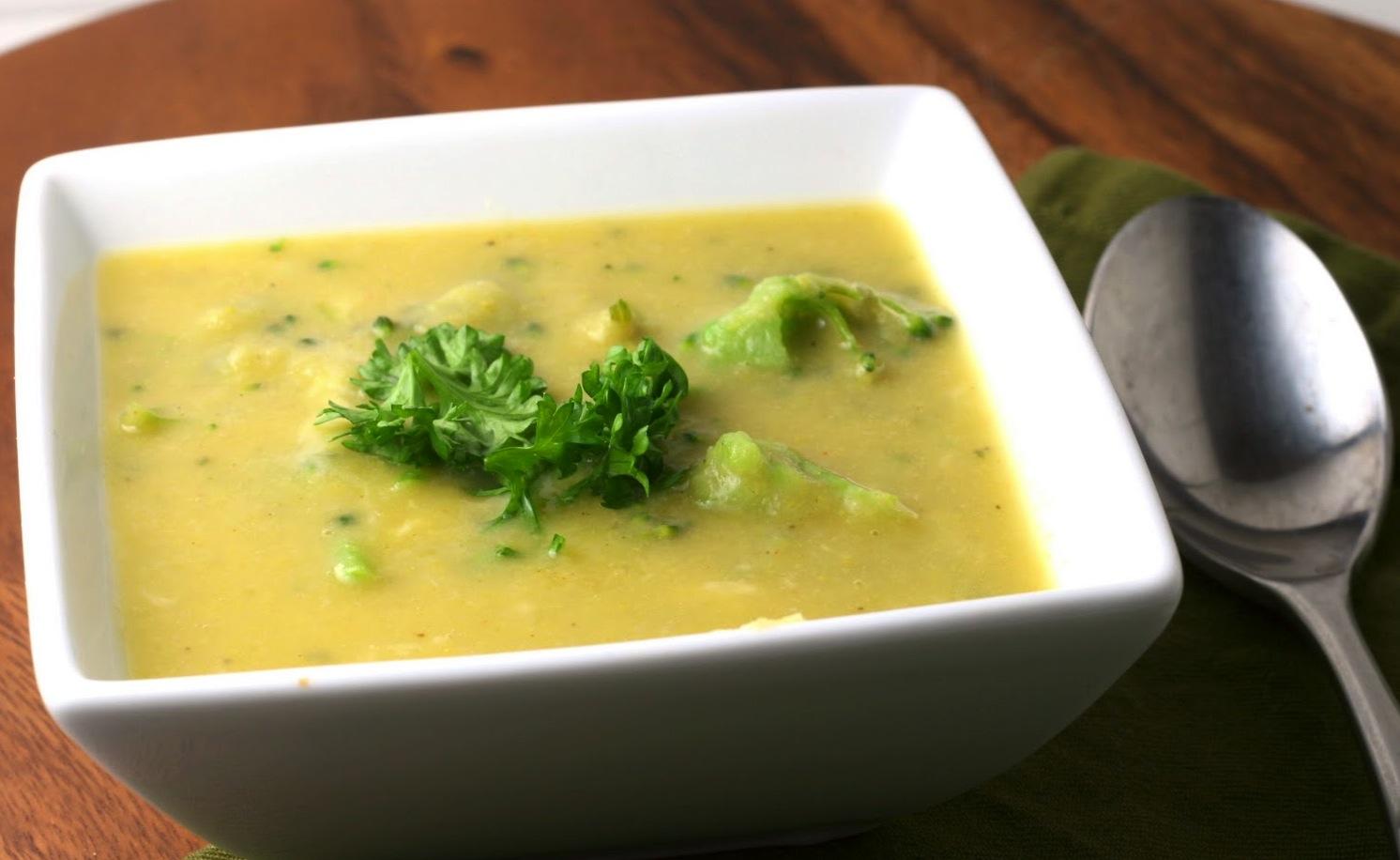 суп из брокколи рецепт