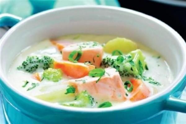 суп из семги рецепт