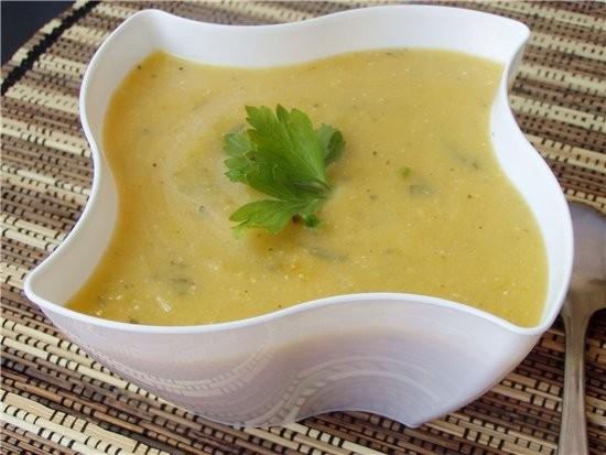 суп пюре из кабачковрецепт