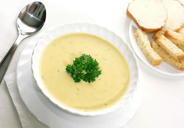 суп пюре сырный рецепт