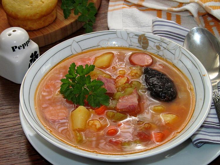 суп с копченостями рецепты