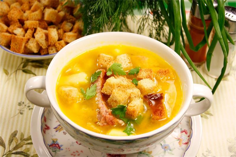 суп с копченостями рецепт