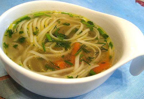 суп с лапшой рецепт