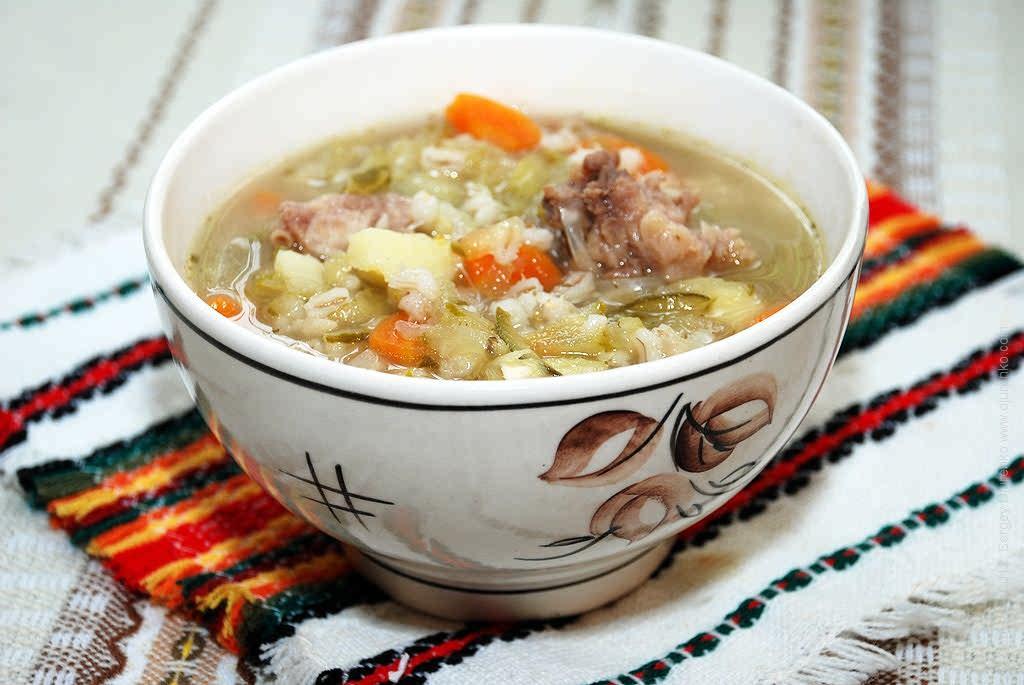 суп с перловкой рецепт