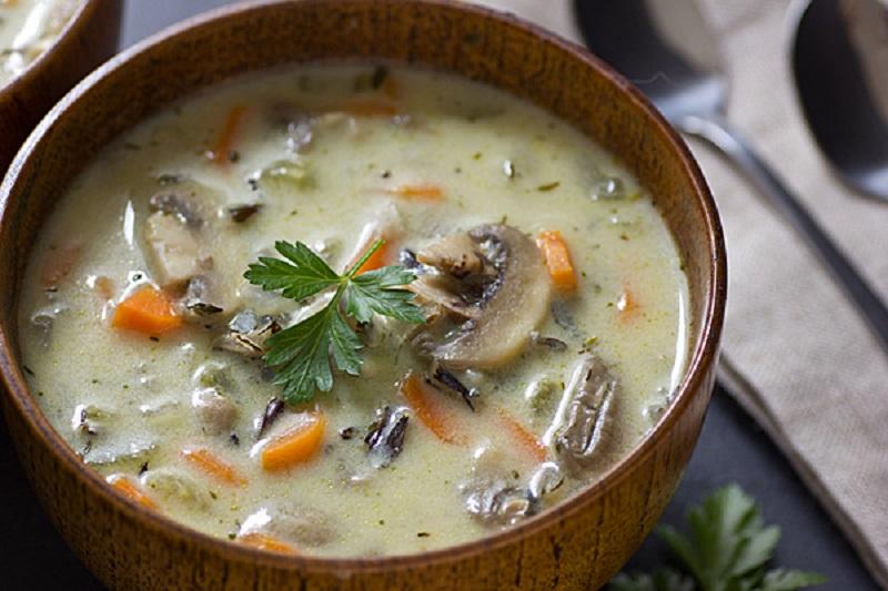суп с рисом рецепт