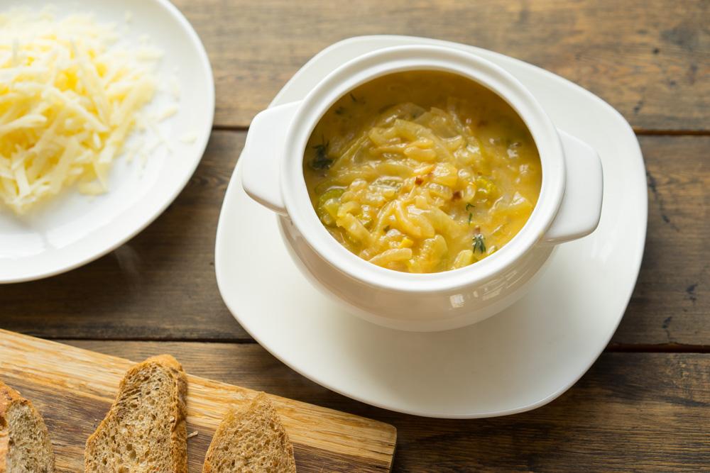 Быстрый суп по-французски