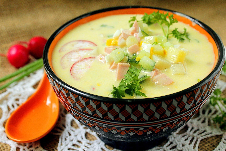 как готовить легкий суп