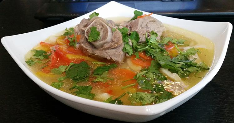 как готовить суп из баранины