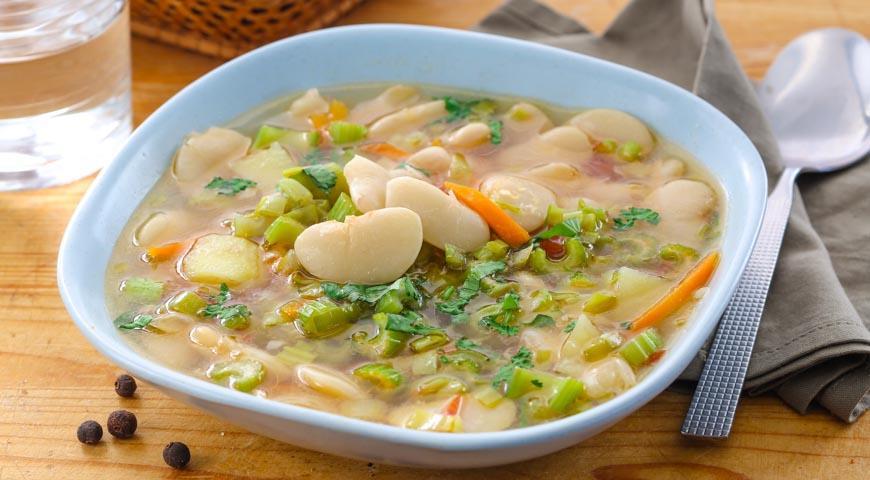 как готовить суп из фасоли
