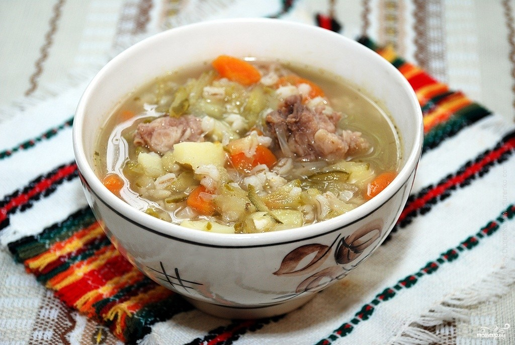 как готовить суп с мясом