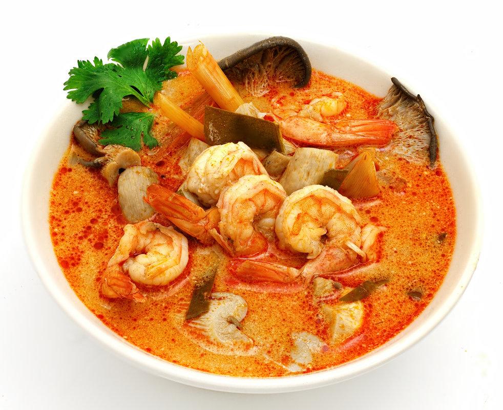 как готовить суп том ям