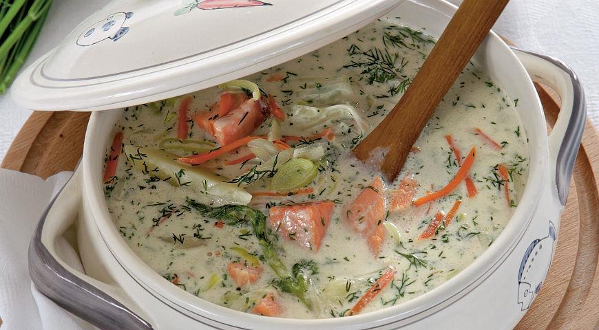 как приготовить быстрый суп