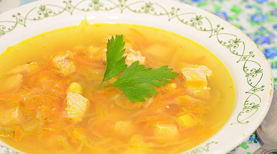 как приготовить суп из курицы