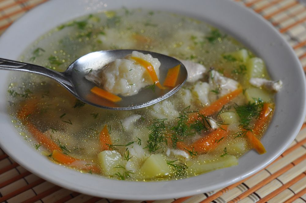 как приготовить суп с галушками