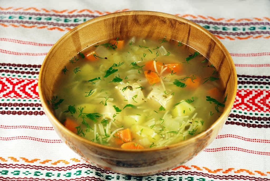 как сделать диетический суп