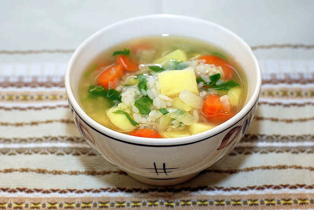 как сделать суп без мяса