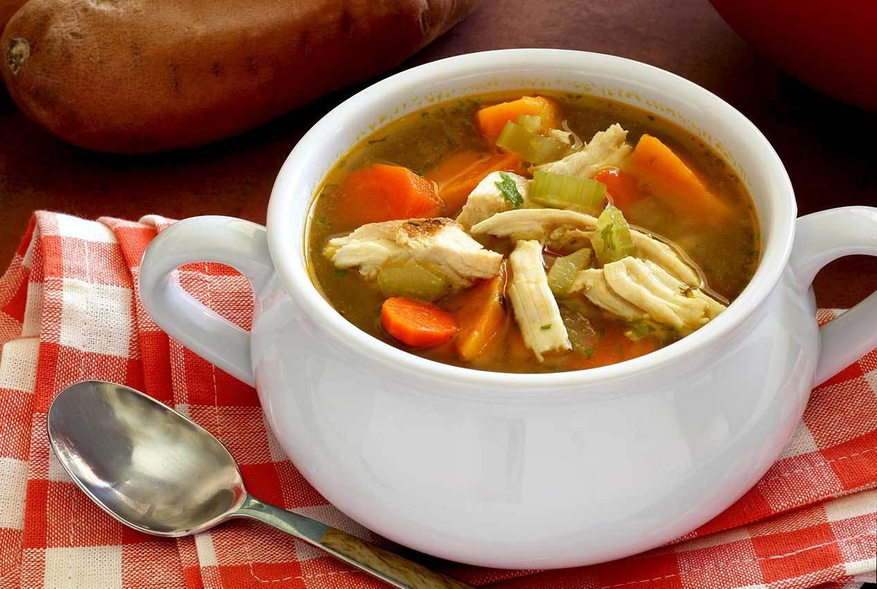 как сделать суп из индейки