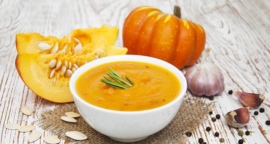 как сделать суп из тыквы