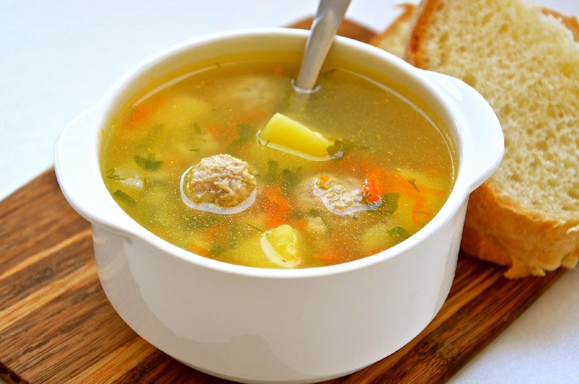 как сделать суп с мясом