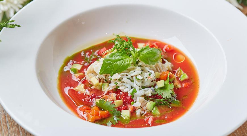 как сделать томатный суп