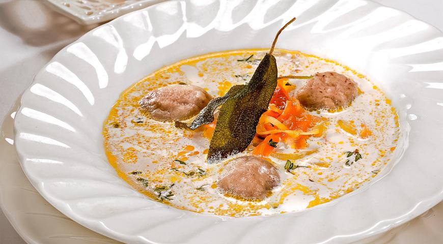 лучший суп с галушками