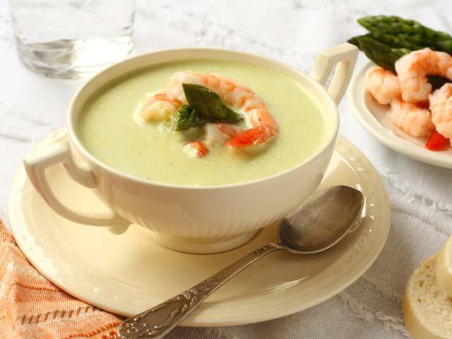 лучший суп с креветками