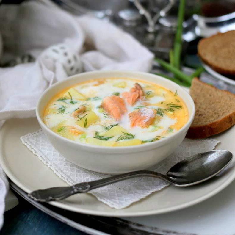 рыбный суп рецепт