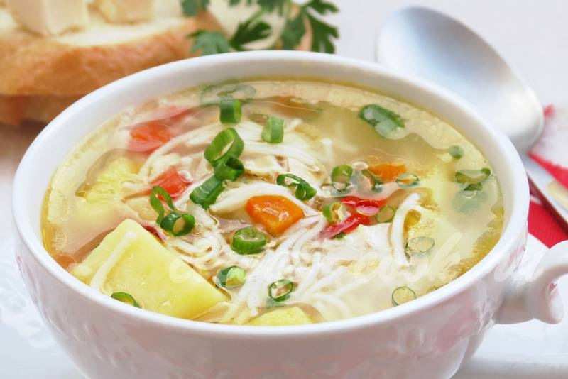 суп без мяса рецепт приготовления