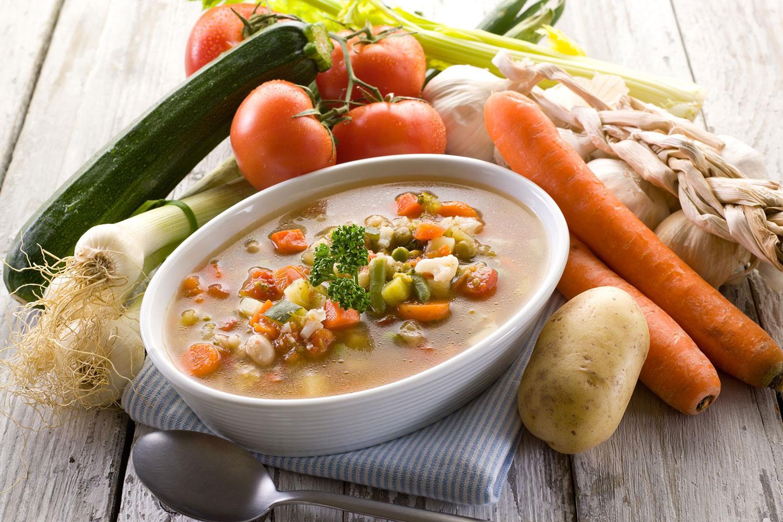 суп без мяса рецепт с фото