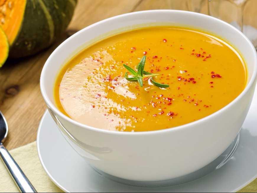 суп из тыквы рецепт приготовления