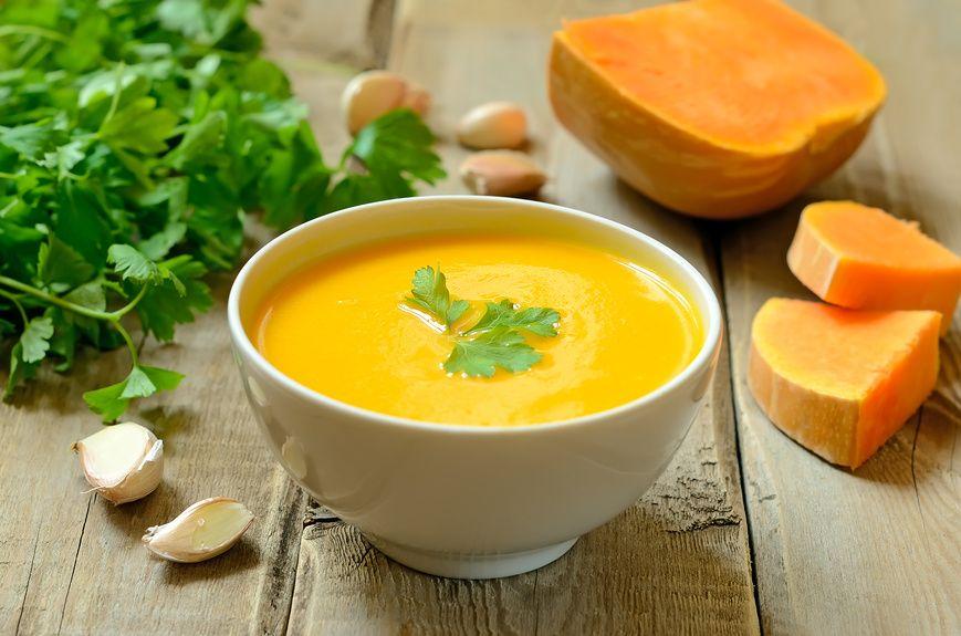 суп из тыквы рецепт с фото