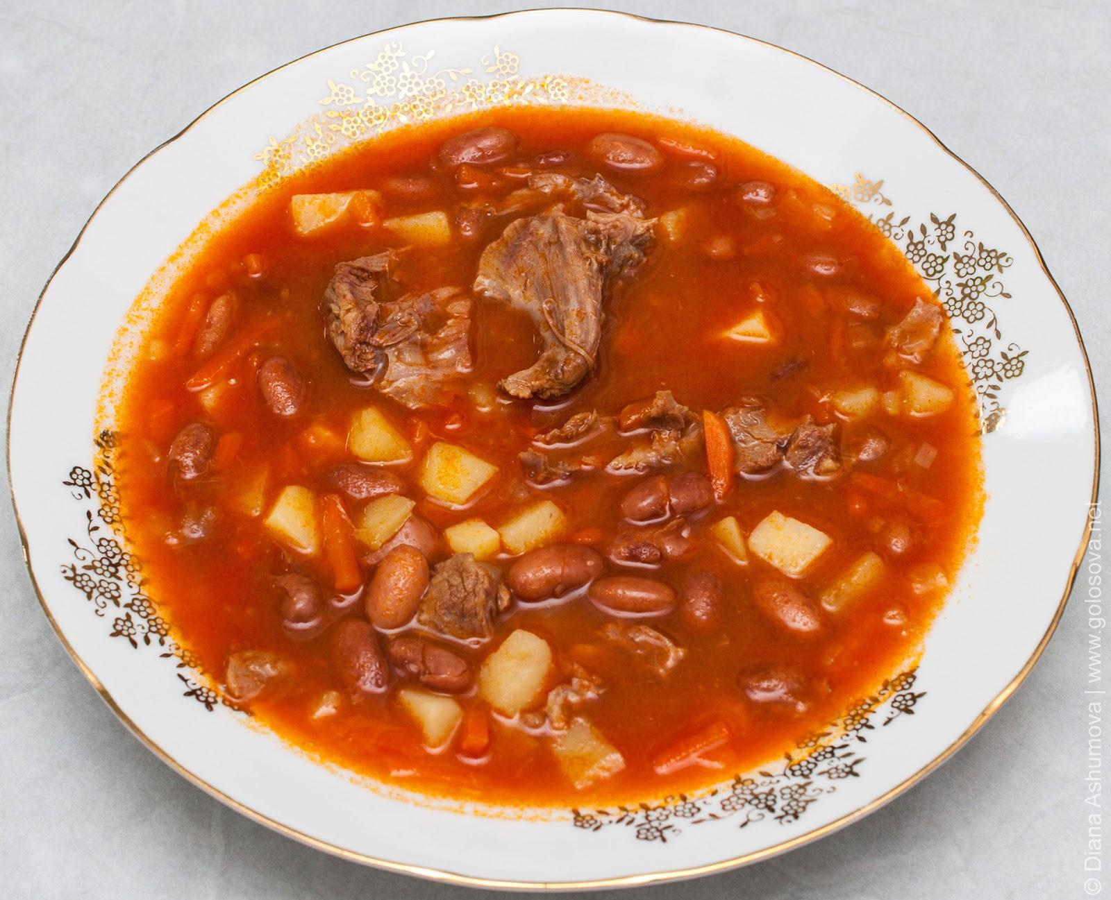 суп из фасоли рецепт