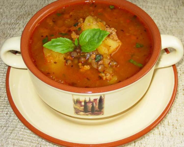 суп из чечевицы рецепты