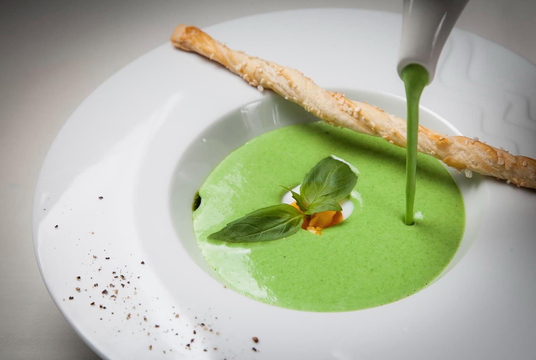 суп из шпината рецепт