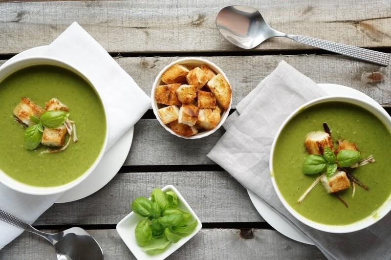 суп со шпинатом рецепты