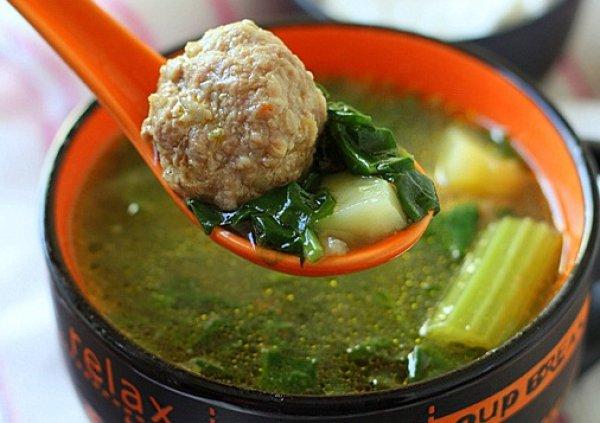 суп со шпинатом рецепт с фото